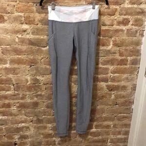 Lululemon Limited Edition Gray Deisgn Leggings